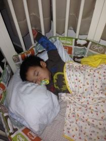 E asleep
